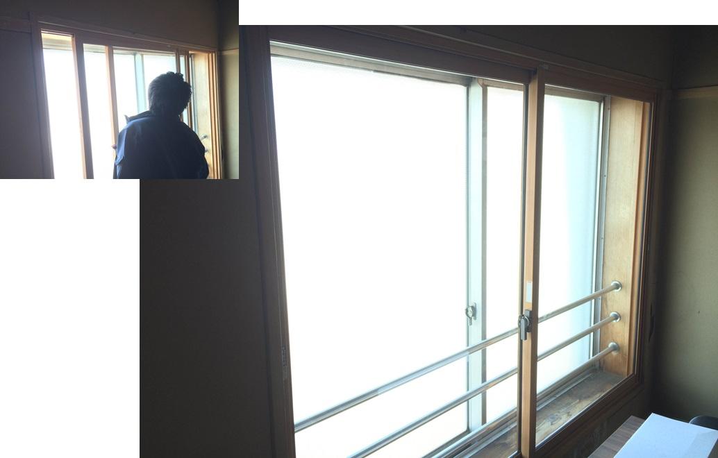 社内2F和室 施工様子(編集写真その2の2)